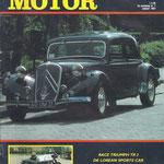 Auto Motor Klassiek. 3e Jaargang nr. 1 uit januari 1987.