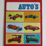 Auto's. Album met ingesloten plaatjes. Uitgeverij Stappaerts (Wilrijk, België), 1978.