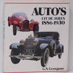 Auto's uit de jaren 1886-1930. G.N. Georgano, 1985.