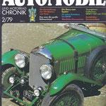 Automobil und Motorrad Chronik, 1979.