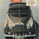 Das Auto Motor und Sport. Een Duits tijdschrift, dit exemplaar is uit 1958.