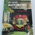 Het grote autoboek. Van koets tot stroomlijn. Ralph Stein, 1963. Dit boek is te koop, prijs € 8,00 email: automobielhistorie@gmail.com