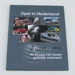 Opel in Nederland, 2003. Dit boek is te koop, prijs € 3,00 email: automobielhistorie@gmail.com