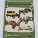 Auto's uit de 20er jaren. Cyril Postumus, 1977.