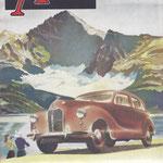 The Motor. Een Engels weekblad, deze is uit 1951.