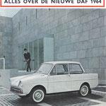 Auto Visie. Een weekblad, dit nummer is uit 1963.