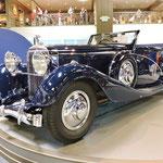 Hispano-Suiza J12 Cabriolet uit 1935, carrosserie door Vanvooren, Parijs.