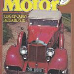 Old Motor. Een Engels maandblad, dit exemplaar is uit 1979.
