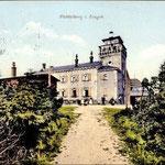 Das alte Unterkunftshaus stand bis 1910