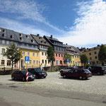 Der Marktplatz von Wolkenstein