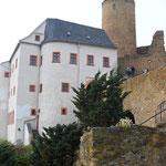Vorderansicht Burg scharfenstein