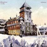 Fichtelberghaus im Winter