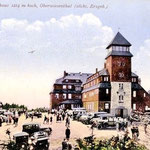 Zugeparktes Fichtelberghaus