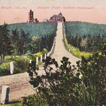 Die Prinzenstraße zum Fichtelberg