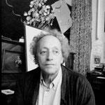 Bernard Noël à l'atelier d'Auvers-sur-Oise