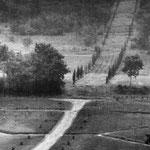 Gers, le parc sous la pluie