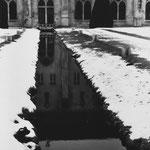 Canal et façade est du bâtiment des moines (1)