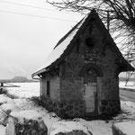 La plaine de Pierrelaye, le chemin des Bœufs, hiver 2013