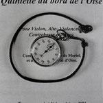 Les répétitions du Quintette, Cité de la musique (3)