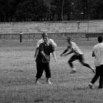 Abbaye de Maubuisson, les footballeurs (détail)