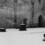 Le mur mitoyen du cloître et de l'abbatiale (3)