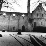Le mur mitoyen du cloître et de l'abbatiale (5)