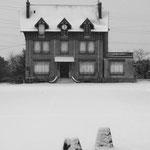 Méry-sur-Oise, ferme de la Haute Borne, la maison du fermier