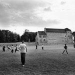 Abbaye de Maubuisson, les footballeurs