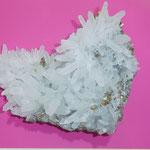 quartz sur pyrite