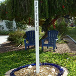 Peace Pole at Donna's - Dedicated 7.13.2012