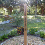 Unity Church of Venice - Peace Pole - Dedicated 9.20.13