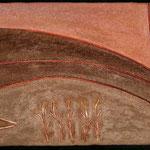 """Croissant Soleil---2004---15"""" x 24""""---Donated / Donnée"""