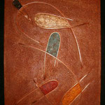 "Abstract / Abstraite---2004---22"" x 30""---SOLD/VENDU"