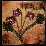 """Violette----2010----12"""" x 12""""---SOLD/VENDU"""