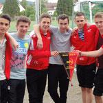 B-Junioren-Meisterfeier 2013/14