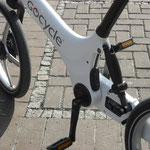 Gocycle Nahaufnahme