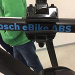 Das erste e-Bike von Riese und Müller mit ABS zum testen in der e-motion e-Bike Welt Düsseldorf