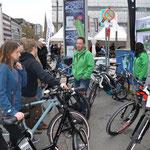 Die e-motion e-Bike Welt Bochum auf dem e-Bike Festival in Dortmund