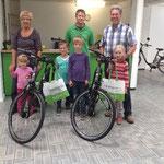 e-Bikes für Eltern mit Kindern in Kleve