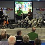 Gocycle Präsentation auf Messe Essen