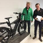 Das e-motion e-Bike Team Düsseldorf zu Besuch bei Riese und Müller