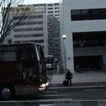 他社のバスも続々と