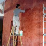Réalisation d'un stucco