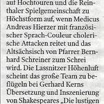 Kleine Zeitung, Juli 2010