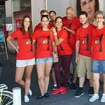 Das Pocoloco-Buchserfest-Team
