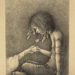メドゥーサ (鉛筆)