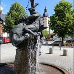 Mitterteich ( Stadtbrunnen )
