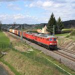 ...Containerzug in Richtung Zwickau