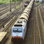 285 105 der ITL mit Gz in Dresden Friedrichstadt