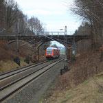RB nach Chemnitz in Oberlichtenau